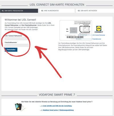 Www Lidl Connect De Karte Freischalten.Lidl Connect Prepaid Karte Tarife Bewertung Erfahrungen